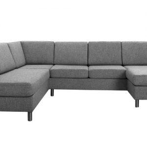 Safir u-sofa – grå