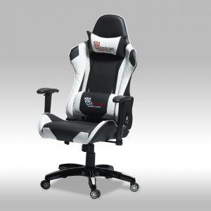 Gaming chair – hvid/sort