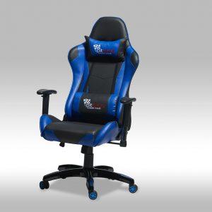 Gaming chair – sort/blå