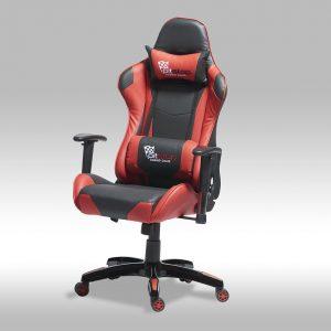 Gaming chair – sort/rød