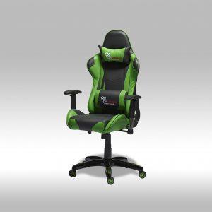 Gaming chair – sort/grøn